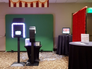 MokPix Photo Booth Kiosk Setup x2